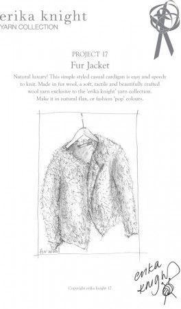 Jacket in Erika Knight Fur Wool (Project 17)