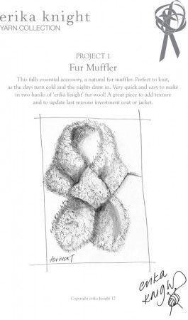 Muffler in Erika Knight Maxi Wool (Project 1)