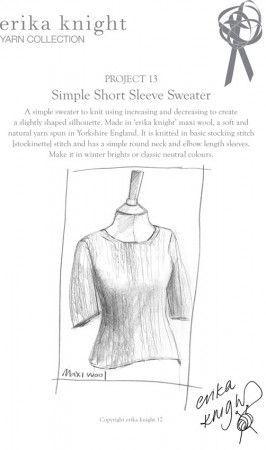 Sweater in Erika Knight Maxi Wool (Project 13)