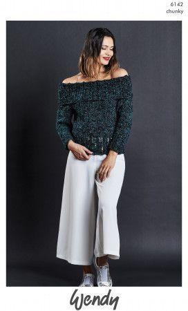 Sweater in Wendy Noir Chunky (6142)