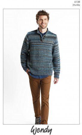 Sweater in Wendy Botanics Chunky (6138)