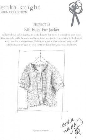 Jacket in Erika Knight Fur Wool (Project 18)