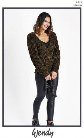Sweater in Wendy Noir Chunky (6146)