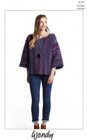 Sweater in Wendy Botanics Chunky (6137)