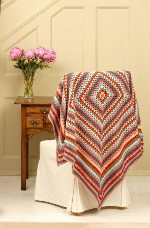 Vintage Blanket Pattern