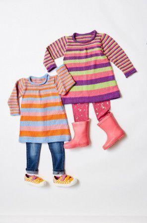 Girls Stripey Dress