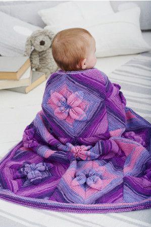 Blanket in Stylecraft Wondersoft Merry Go Round DK (9391)