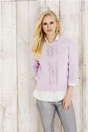 Sweater in Stylecraft Jeanie Denim Look (9492)