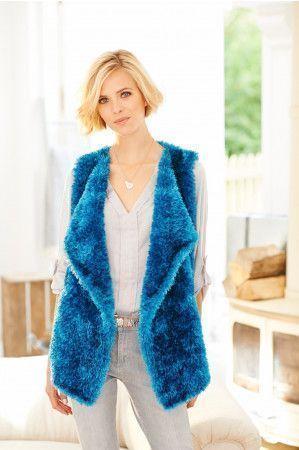 Waistcoat in Stylecraft Eskimo DK (9229)