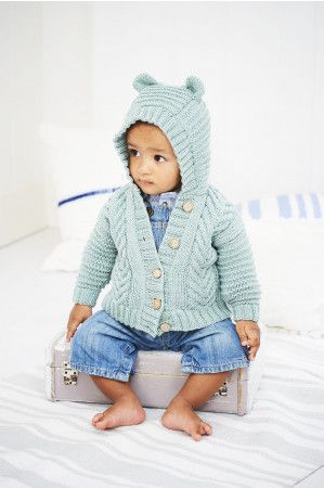 Jackets in Stylecraft Bambino DK (9605)