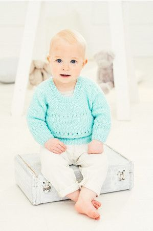 Cardigan and Sweater in Stylecraft Special for Babies DK (9679)