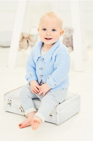 Jacket and Waistcoat in Stylecraft Special for Babies DK (9680)