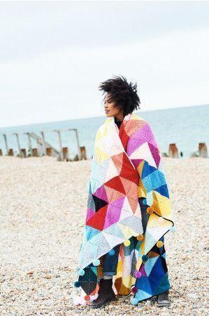 Tessellation Blanket in Stylecraft Special DK (9683)