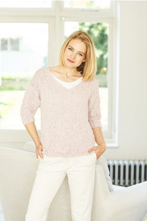 Sweater and Cardigan in Stylecraft Pearls (9779)