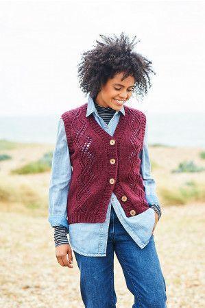 Sweater and Waistcoat in Stylecraft Softie Chunky (9813)