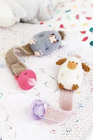 Baby Dummy Holder Crochet Pattern