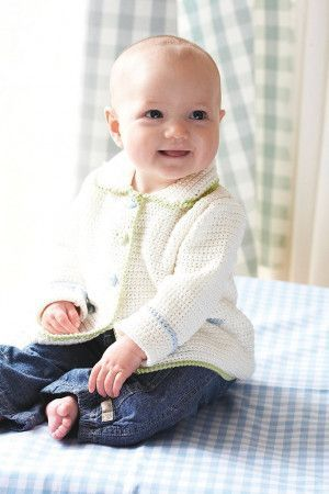 Baby Jacket Crochet Pattern