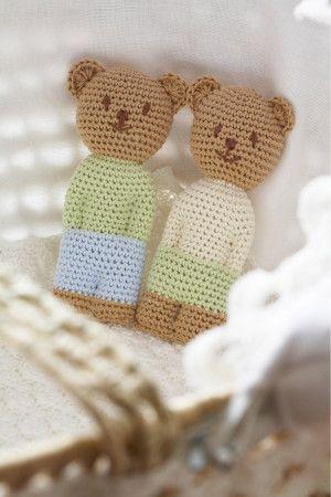 Bear Crochet Patterns - The Knitting Network