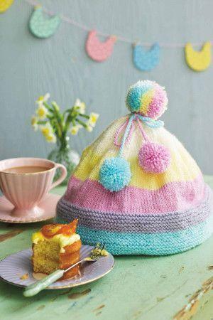 Bobble Hat Tea Cosy Knitting Pattern