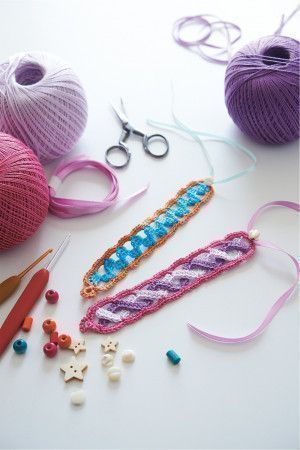 Bracelet Crochet Pattern - The Knitting Network