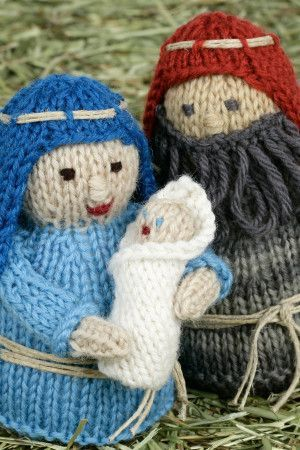 Christmas Nativity Set Knitting Patterns - The Knitting Network