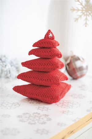 Christmas Tree Knitting Pattern - The Knitting Network