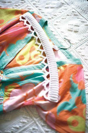 Coat Hanger Cover Crochet Pattern - The Knitting Network