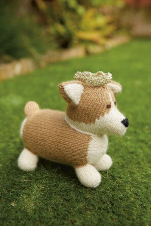 Corgi Dog Knitting Pattern