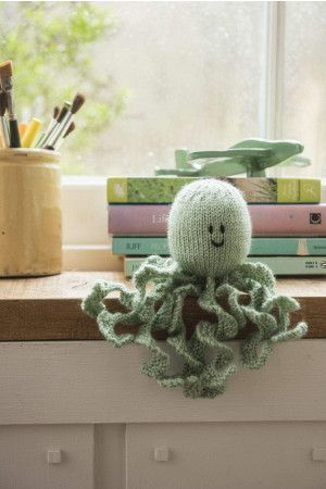 Octopus Toy Knitting Pattern