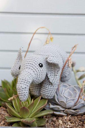 Elephant Toy Crochet Pattern
