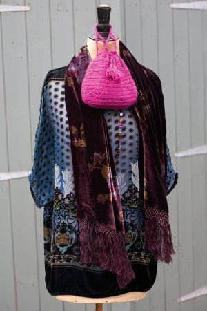 Evening Bags Knitting and Crochet Patterns - The Knitting Network