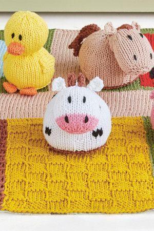 Farm Baby Play Mat Knitting Pattern - The Knitting Network