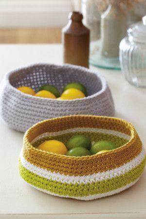 Fruit Bowl Crochet Pattern - The Knitting Network