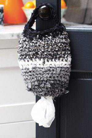 Plastic Bag Holder Crochet Pattern