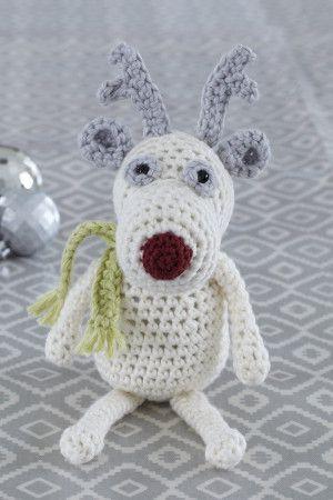 Reindeer Decoration Crochet Pattern