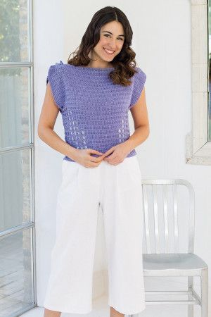 Women's short sleeve jumper featuring a bateau neckline