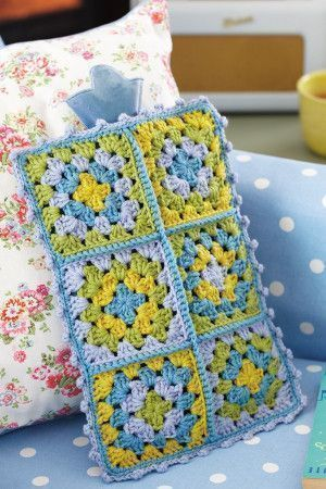 Vintage Style Hot Water Bottle Cover Crochet Pattern