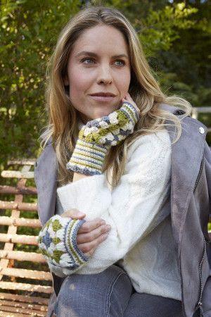 Wrist Warmers Crochet Pattern