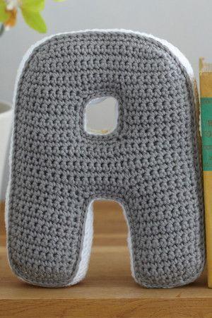 Alphabet Bookends Crochet Pattern - The Knitting Network