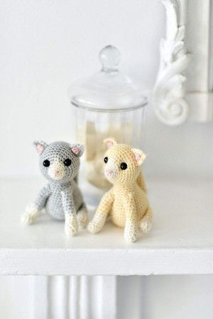Cute Amigurumi Kittens Crochet Pattern