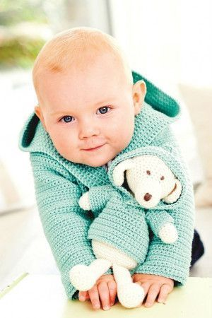 Baby Hoodie And Dog Toy Crochet Patterns