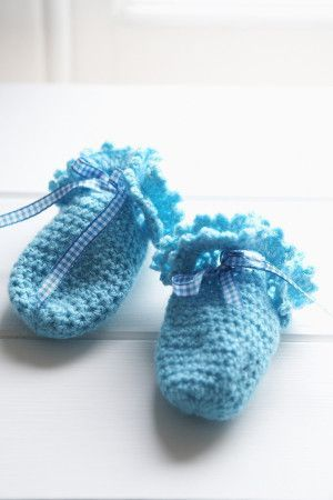 Baby Mittens Crochet Pattern