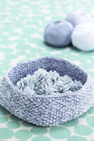 Bowl Knitting Pattern - The Knitting Network