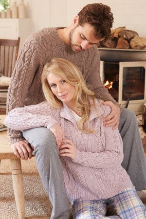 Cable Jumpers For Men And Women Knitting Patterns