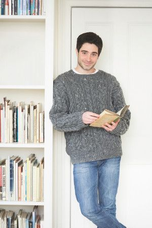 Cable Sweater for Men