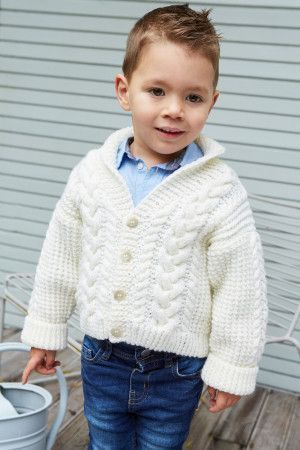 Child Shawl Collar Jacket