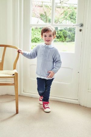 Boy's Guernsey Sweater Pattern