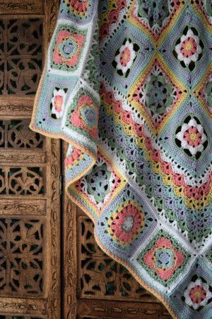 Moroccan Dreams Blanket Pattern