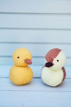Chick and Duckling Pattern