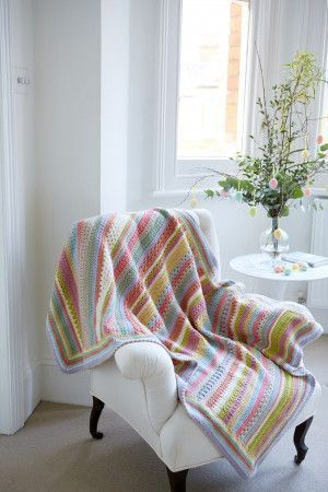 Easter Crochet Blanket Pattern
